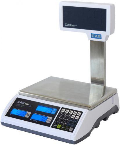 Váha obchodní CAS ER PLUS 15kg s nožkou
