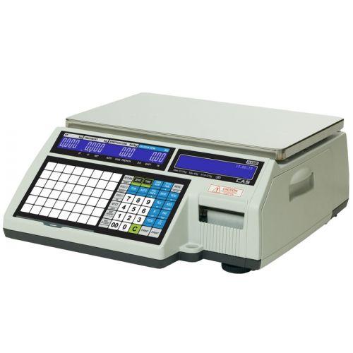 Váha etiketovací systémová CAS CL5500 30kg bez nožky