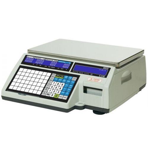 Váha etiketovací systémová CAS CL5500 6kg bez nožky