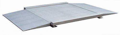 Váha nájezdová 4TU 1000 x 1000mm, nerez, 600 kg