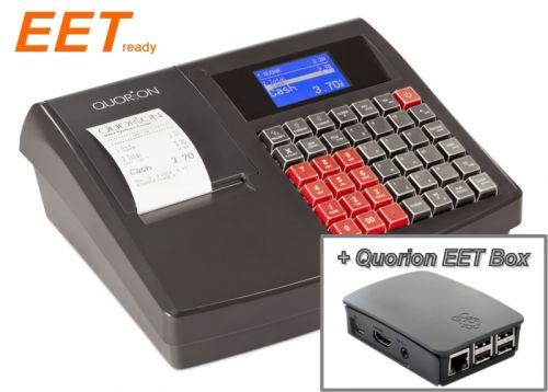 Sestava registrační pokladna QMP 18 + Quorion EET box