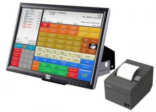 """Pokladní sestava LYNX 20"""" se softwarem Conto Mini a tiskárnou"""